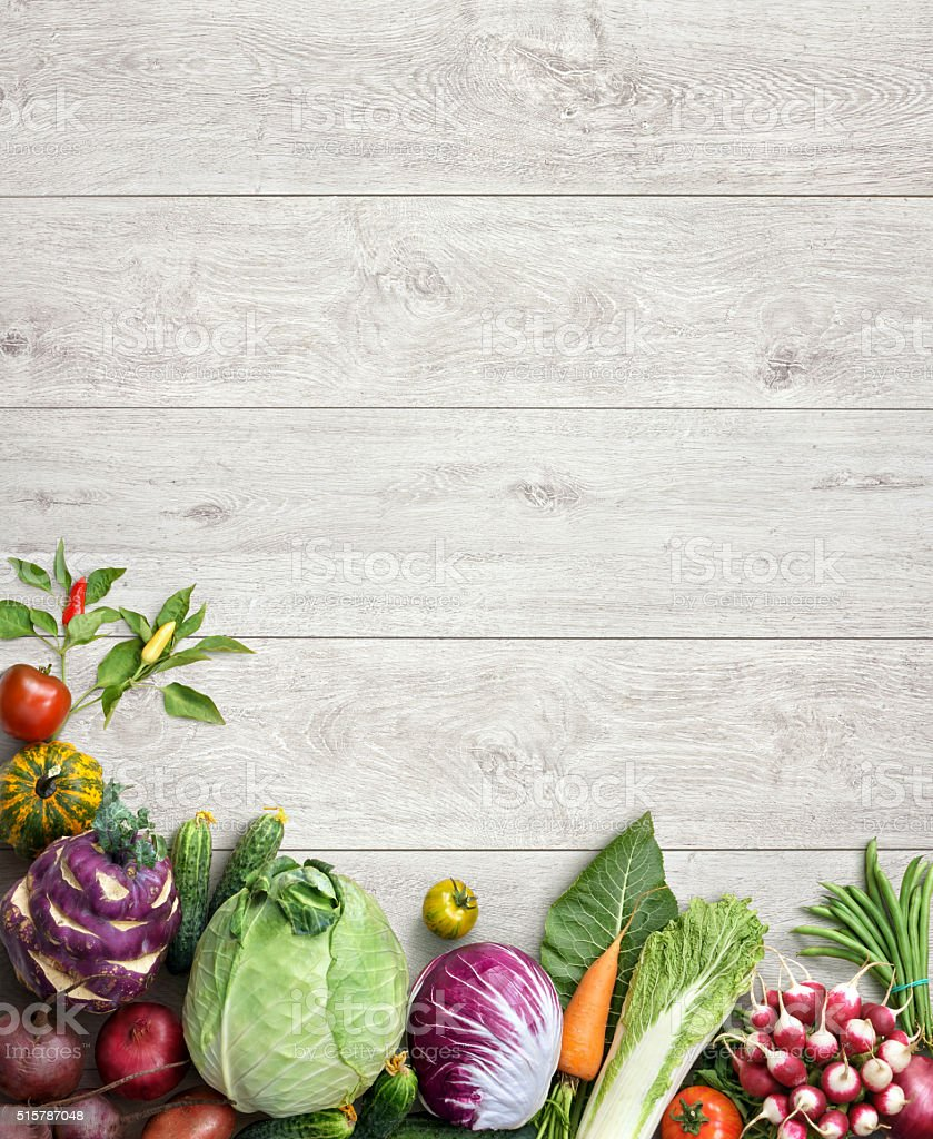 Healthy and Fresh vegetables. stock photo
