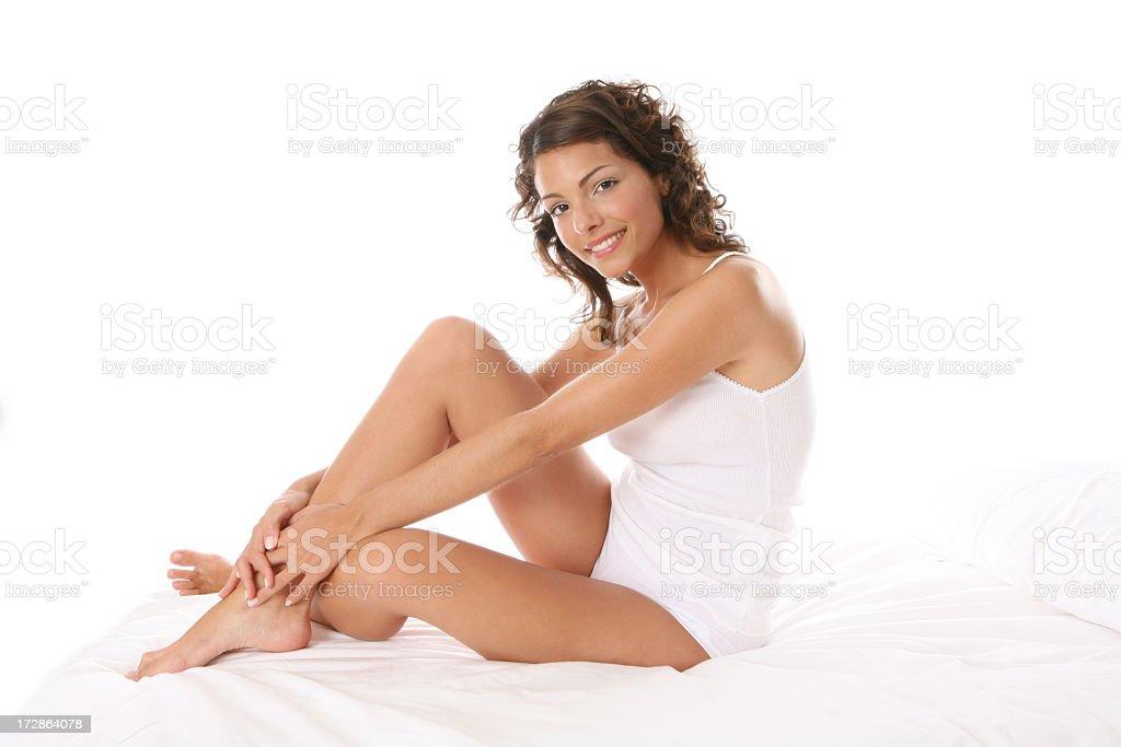 healthy and happy royalty-free stock photo