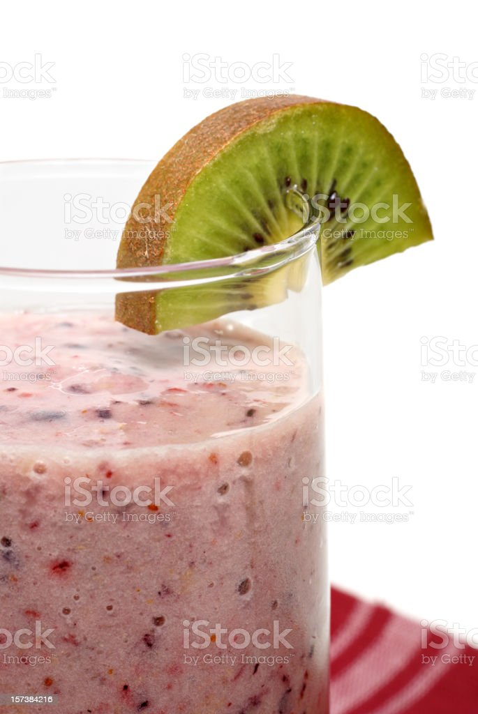 Healthy Antioxidant Strawberry Smoothie royalty-free stock photo