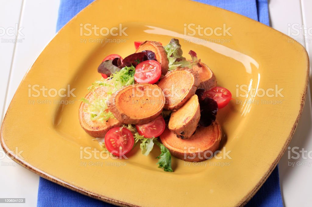 Healthy appetizer royalty-free stock photo