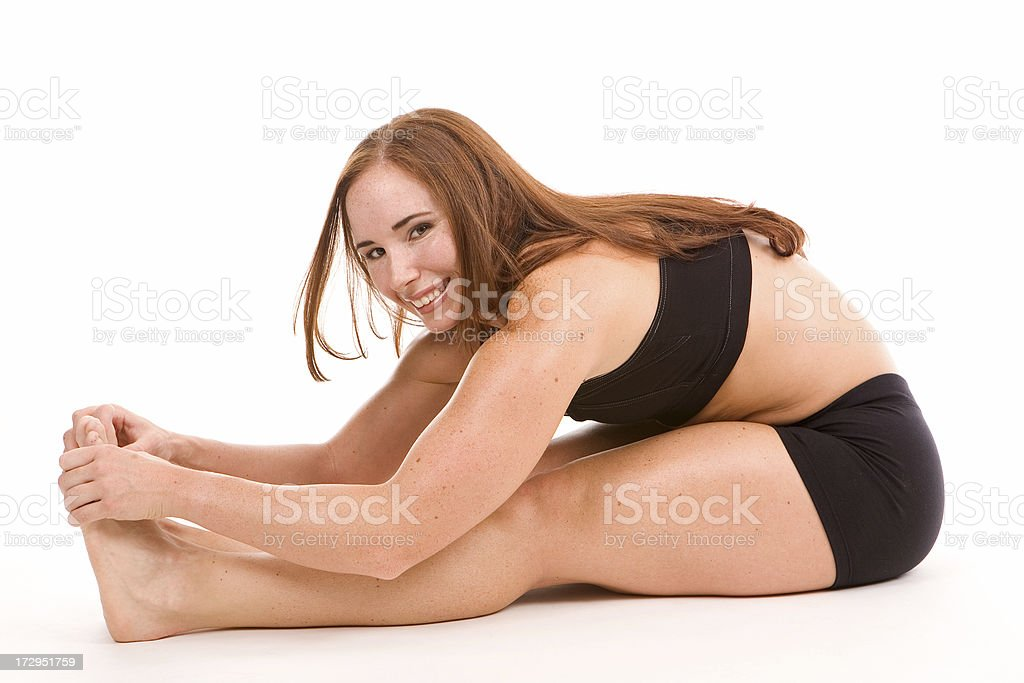 healthy attractive woman royalty-free stock photo