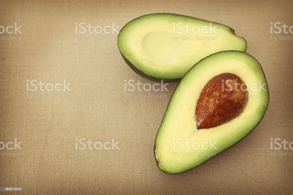 Healthy Avocado royalty-free stock photo