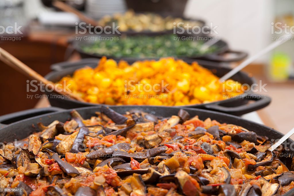 healthy ayurveda vegan food stock photo