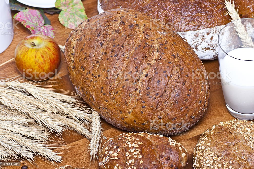 Healthy Bakery Products stock photo