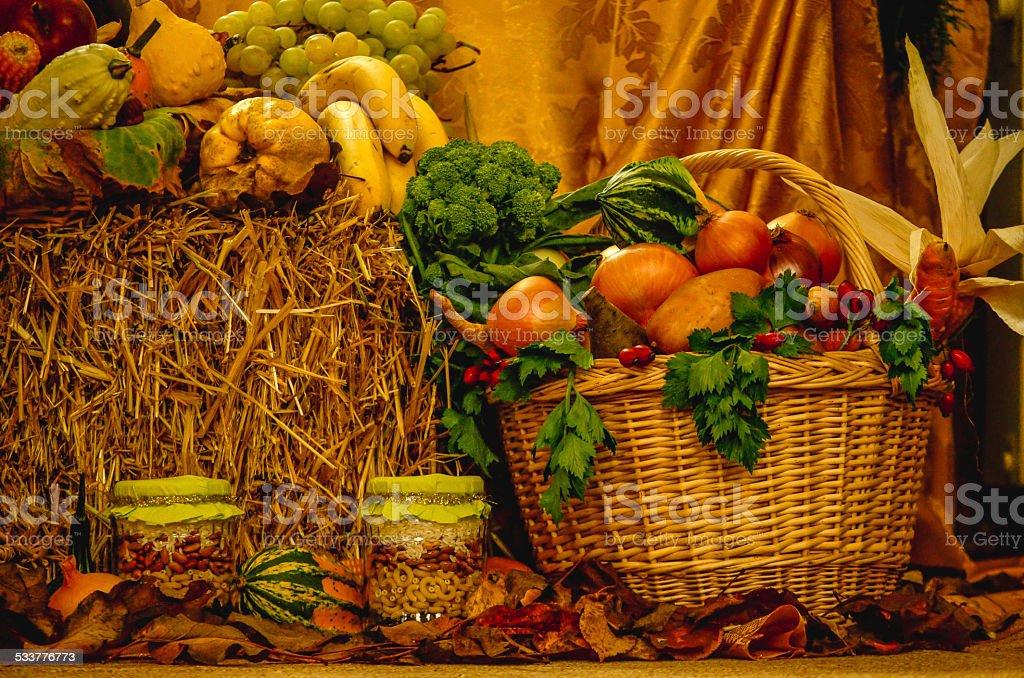 Healthy Basket royalty-free stock photo