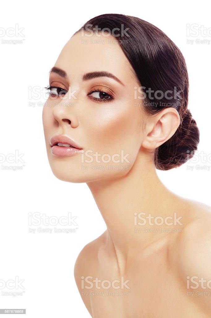 Healthy beauty stock photo