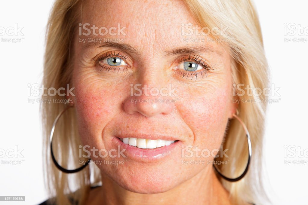 Healthy Blond Woman royalty-free stock photo