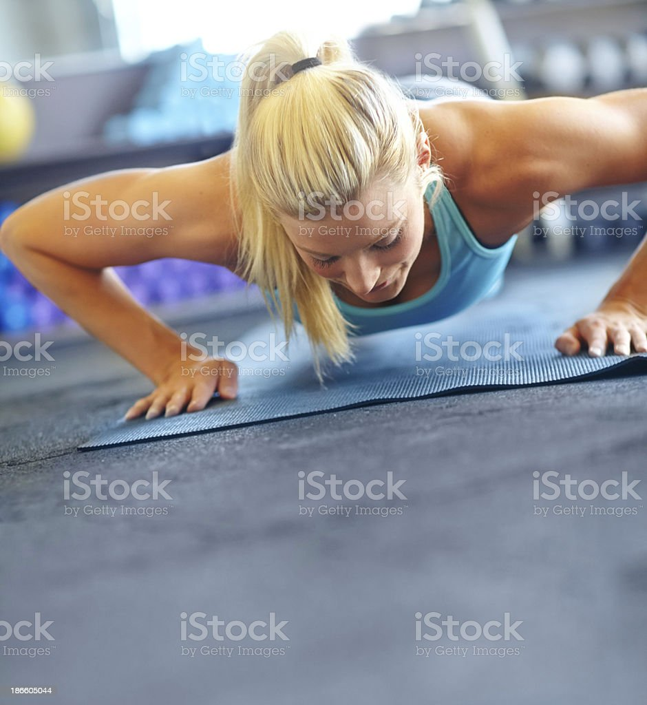 Healthy body and mind royalty-free stock photo