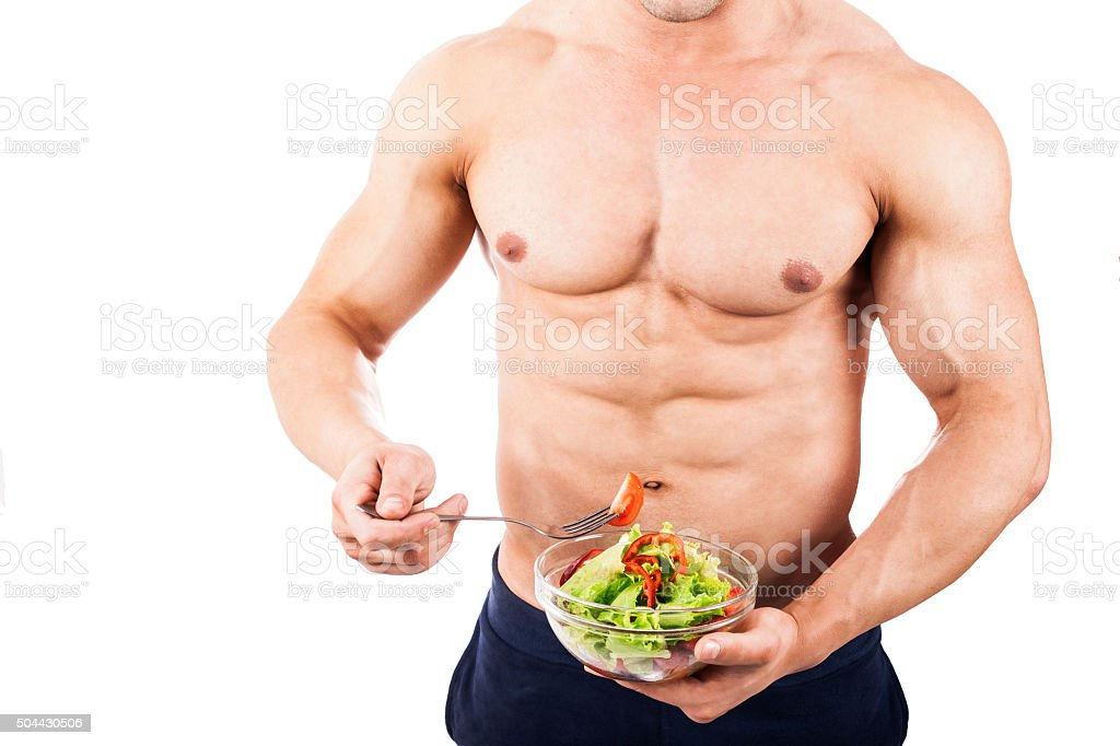 Healthy body man stock photo