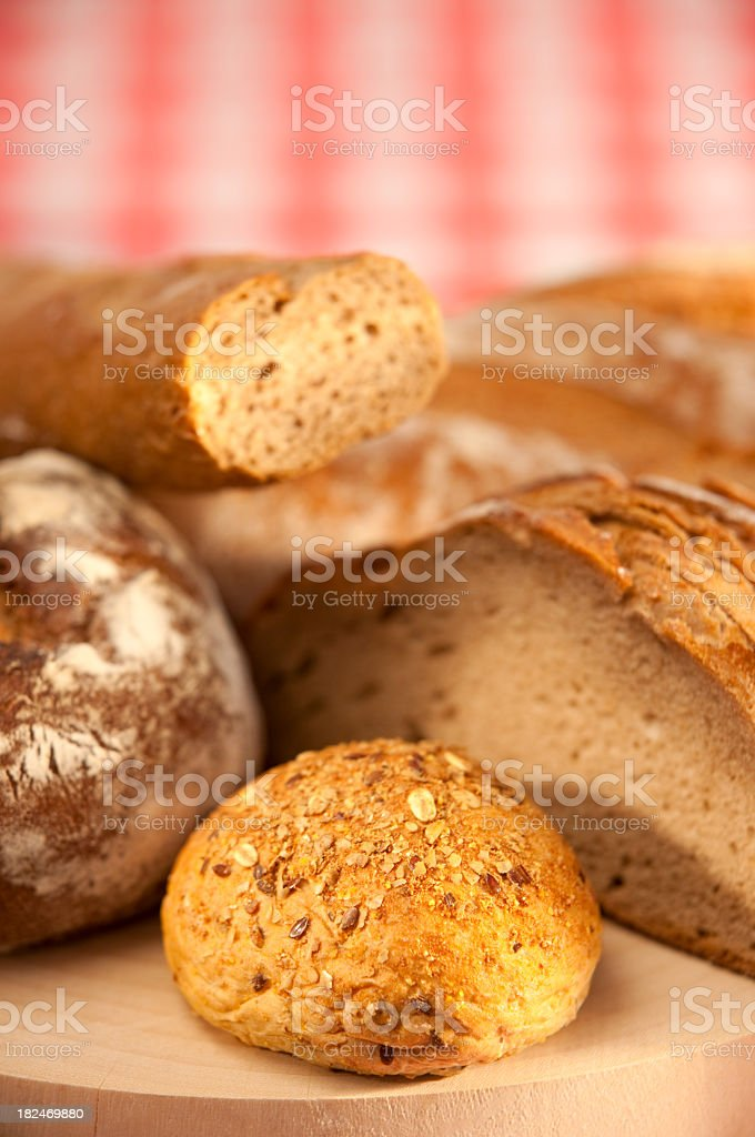 Healthy bread background. royalty-free stock photo