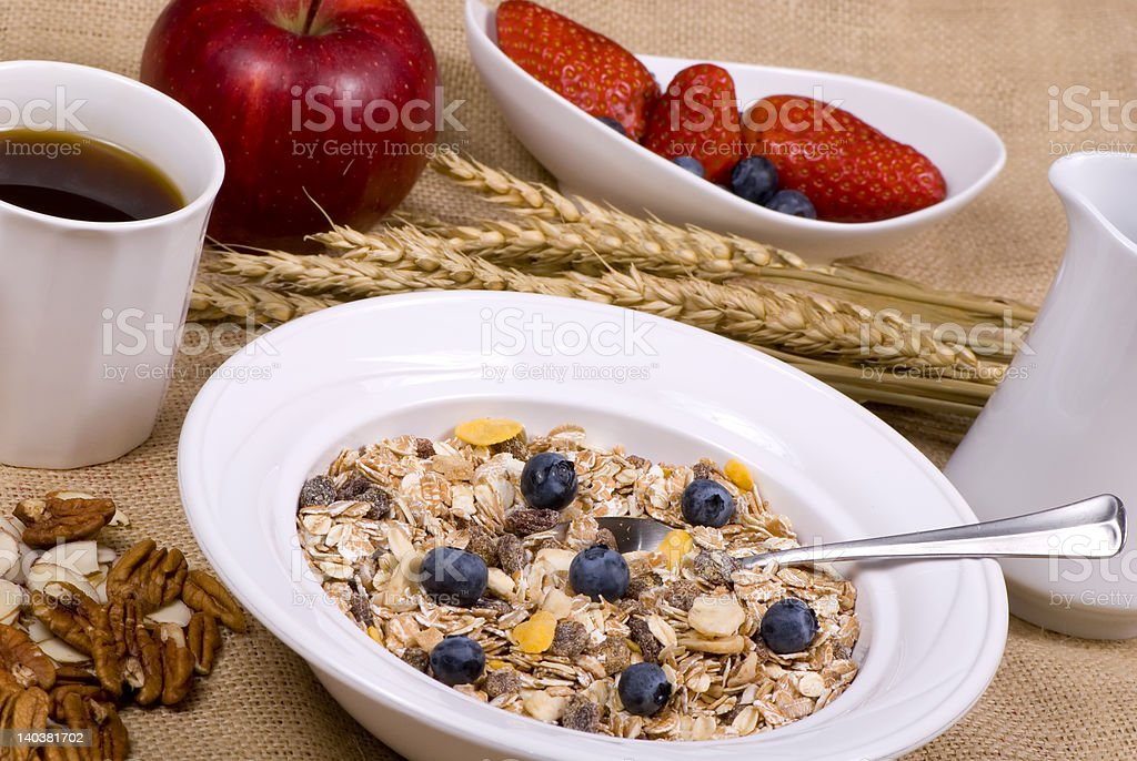 Healthy Breakfast 1 stock photo