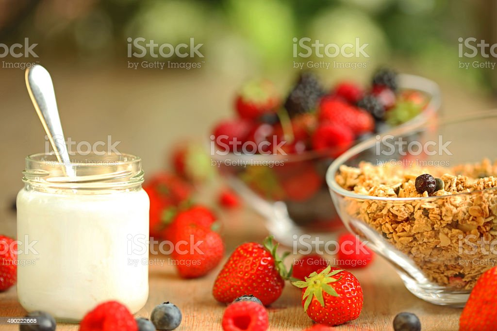 Healthy Breakfast Meal stock photo