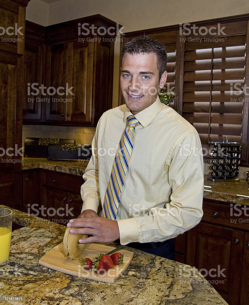 Healthy Breakfast royalty-free stock photo