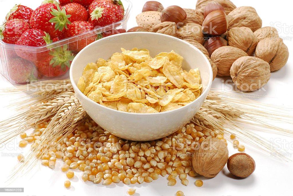Healthy breakfast. royalty-free stock photo
