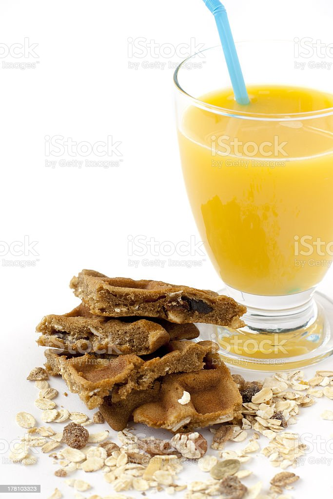 Café-da-manhã saudável foto royalty-free