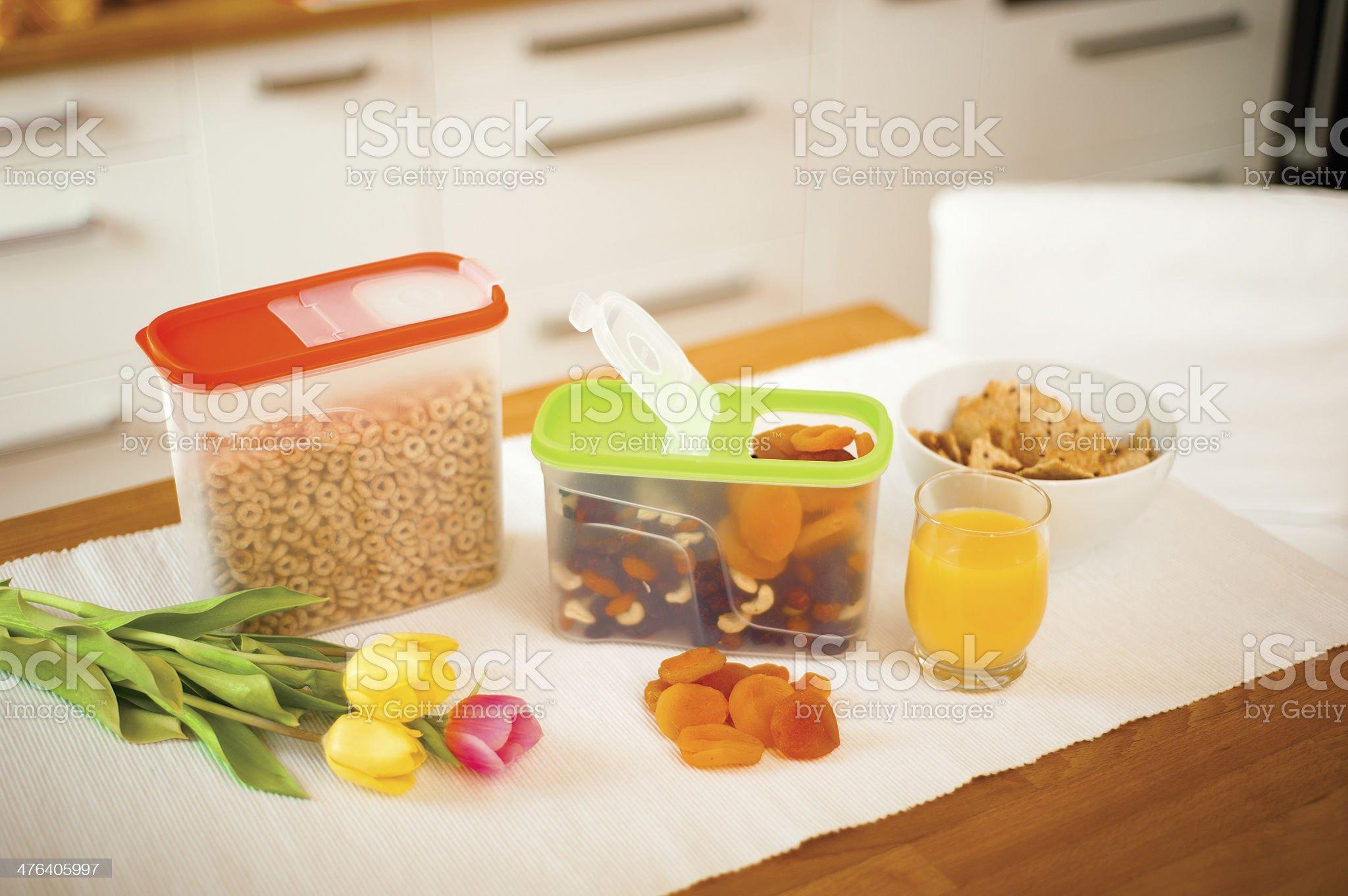 Healthy breakfast royalty-free stock photo
