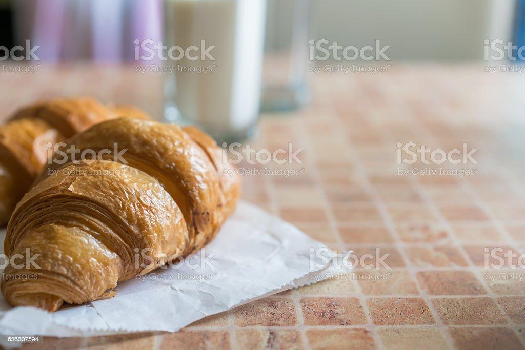 Healthy breakfast. stock photo