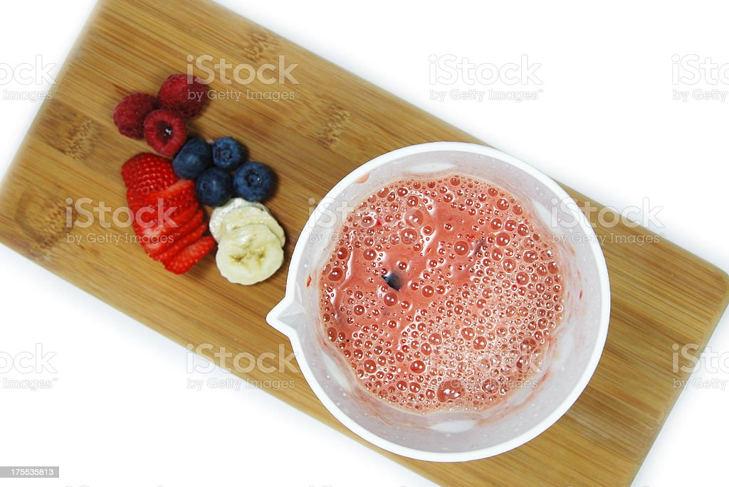 Healthy Breakfast Smoothie royalty-free stock photo