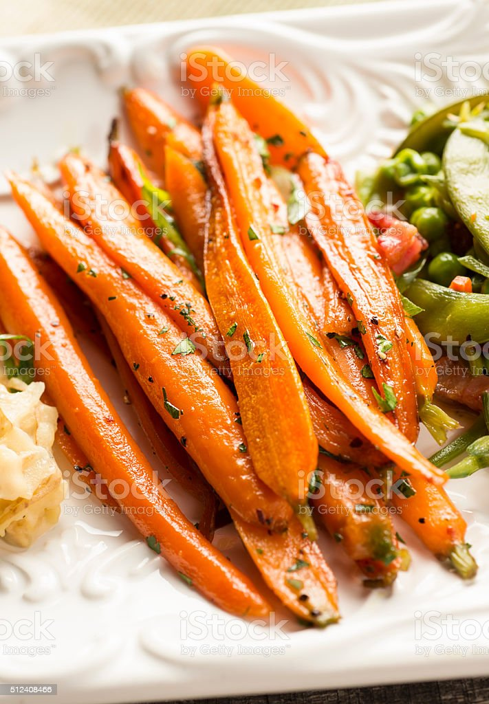Healthy Carrot Dish stock photo