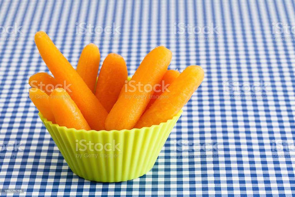 Healthy Carrot Snack stock photo