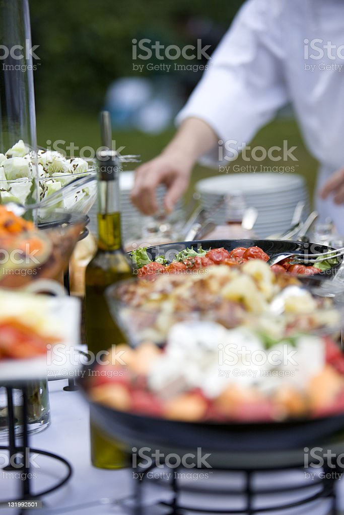 Healthy catering royalty-free stock photo