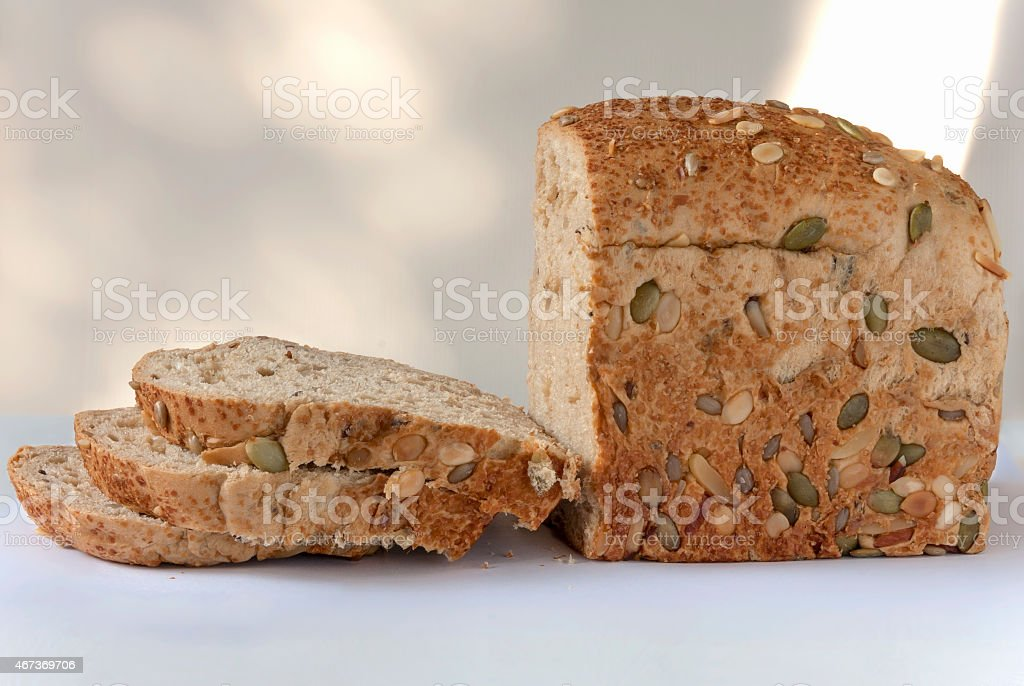Healthy cereal bread royalty-free stock photo