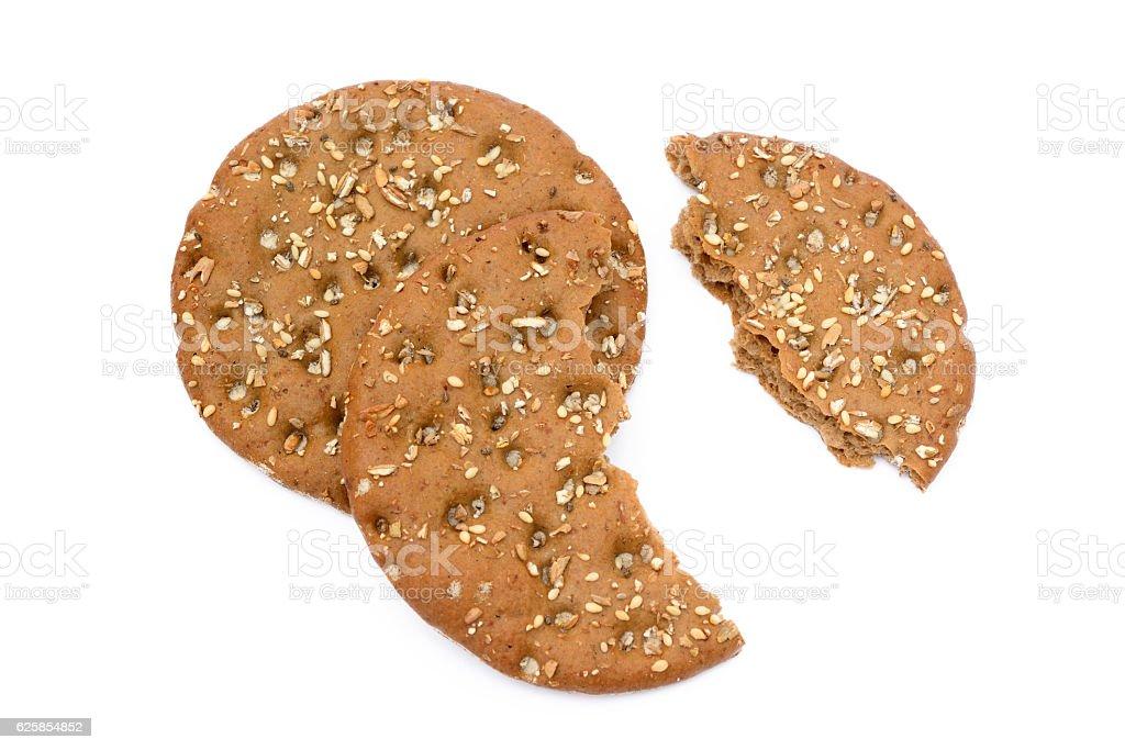 Healthy cereal bread stock photo