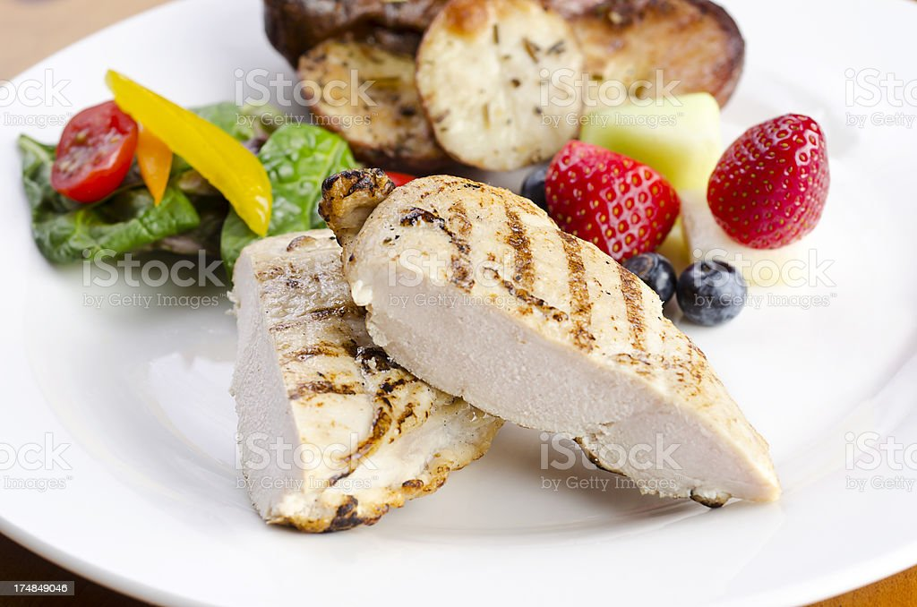 Healthy Chicken Breast royalty-free stock photo