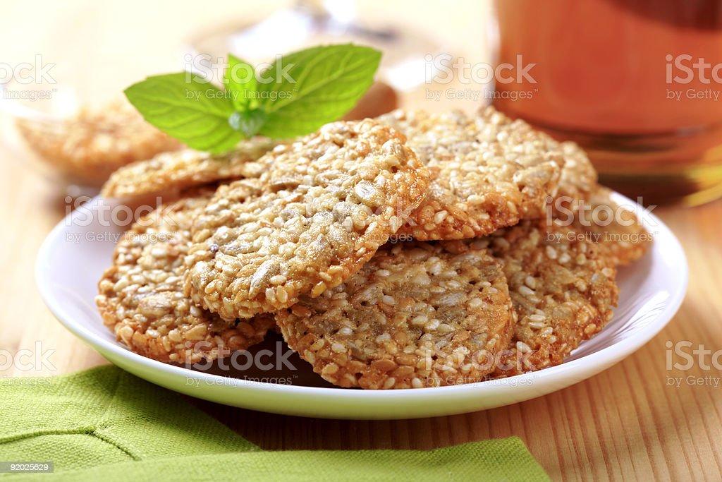 Здоровые cookie-файлы Стоковые фото Стоковая фотография