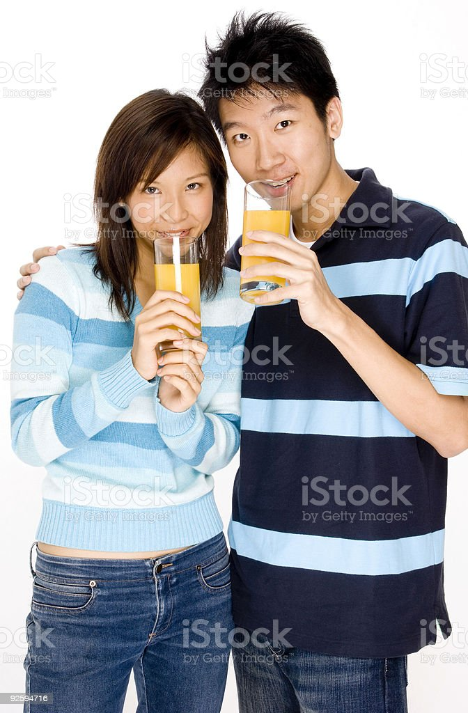 Healthy Couple royalty-free stock photo