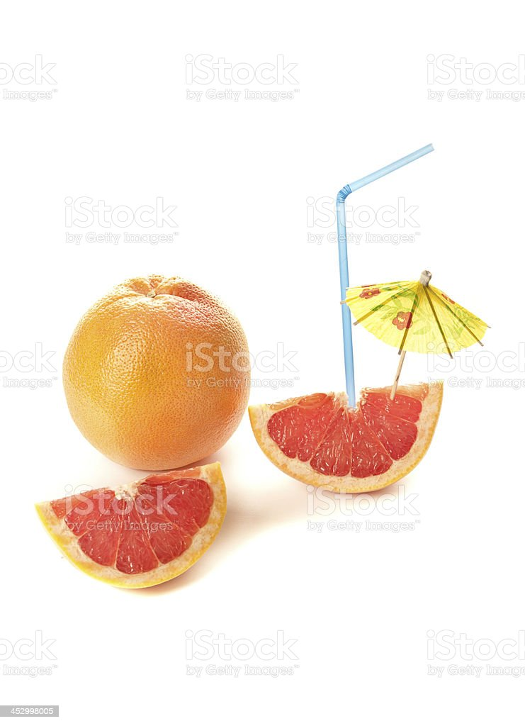 Healthy creative cocktail royalty-free stock photo