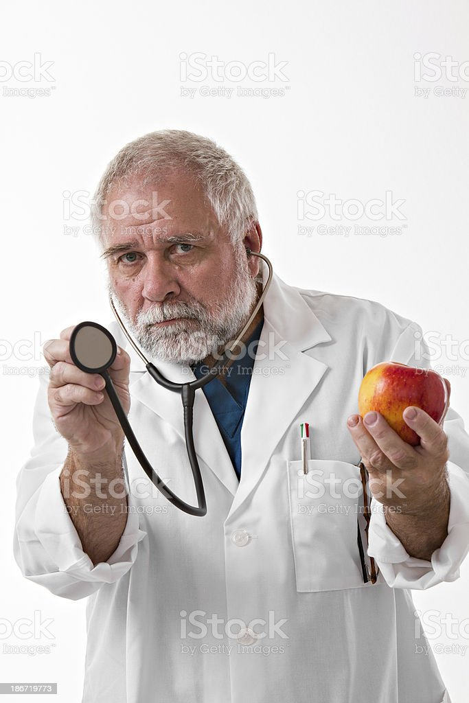 Healthy Diet Or Me royalty-free stock photo