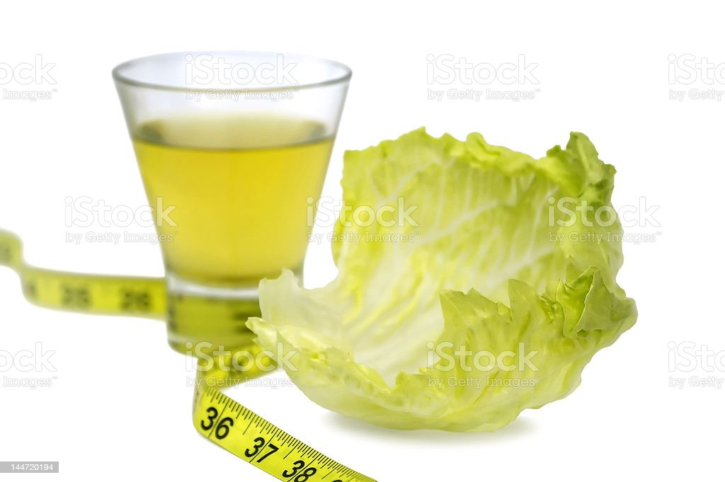 Healthy dieting - weight loss. royalty-free stock photo