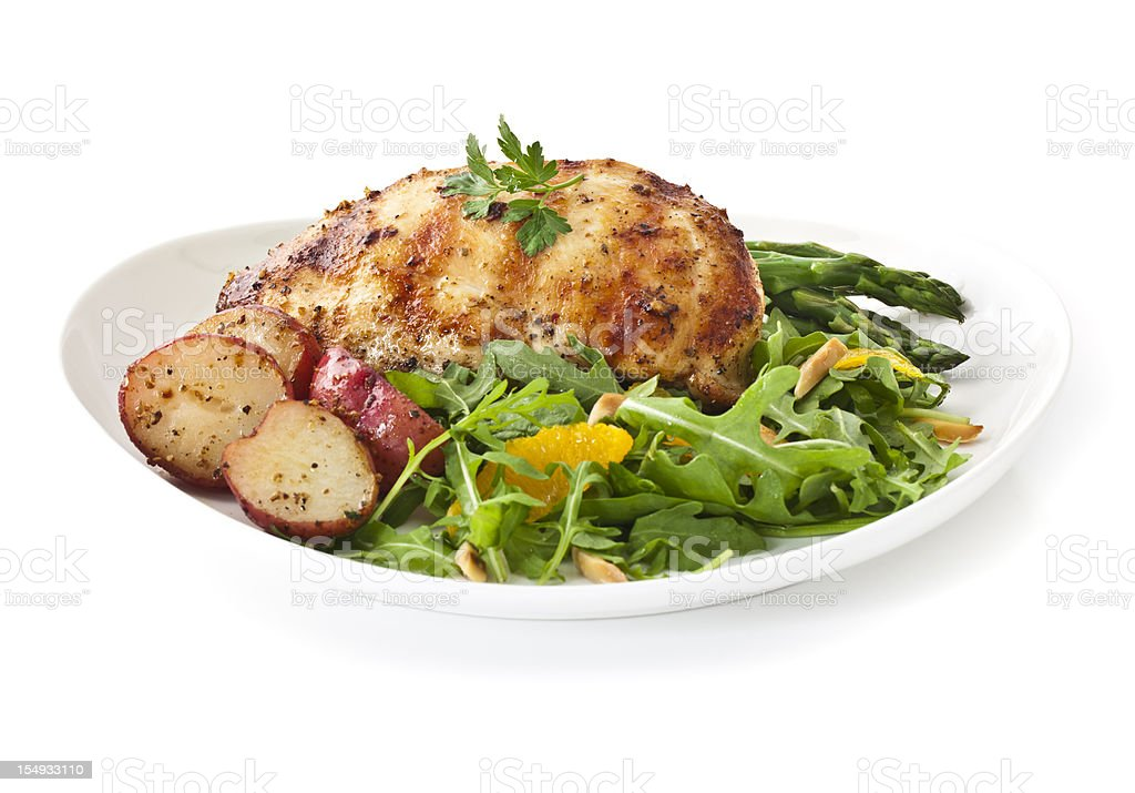 Healthy Dinner royalty-free stock photo