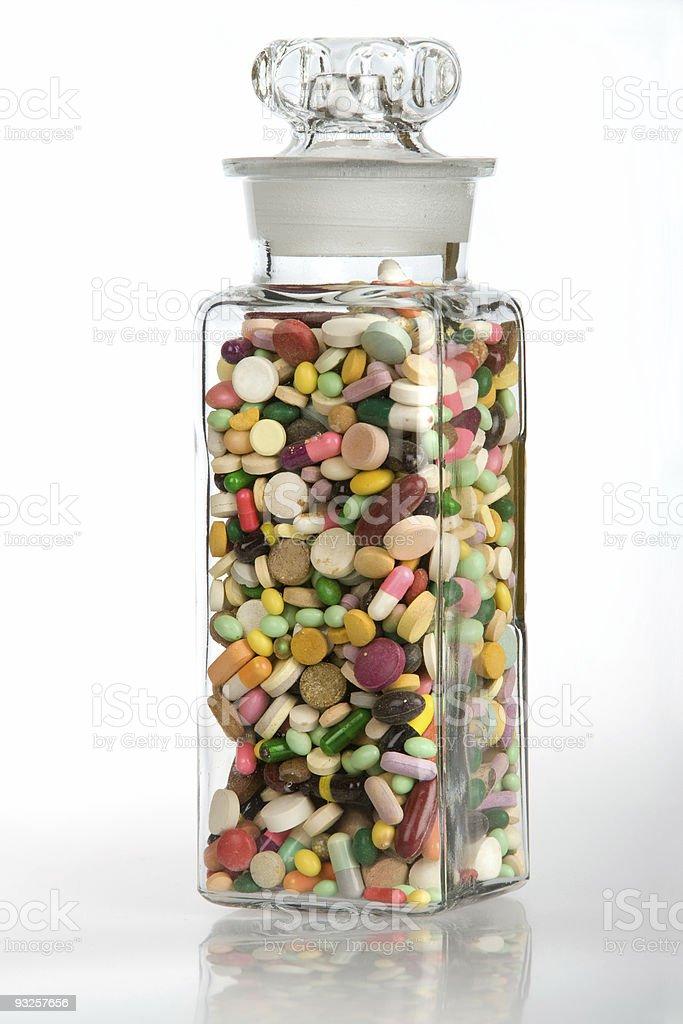 Healthy Dose of Medicine royalty-free stock photo