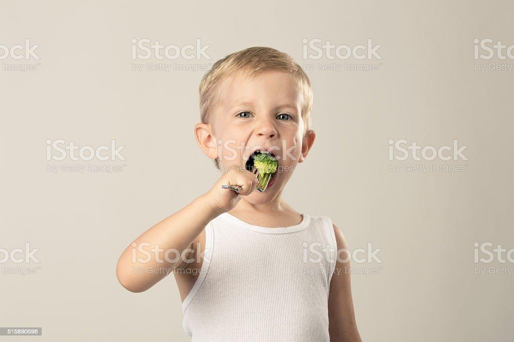 Healthy Eater stock photo