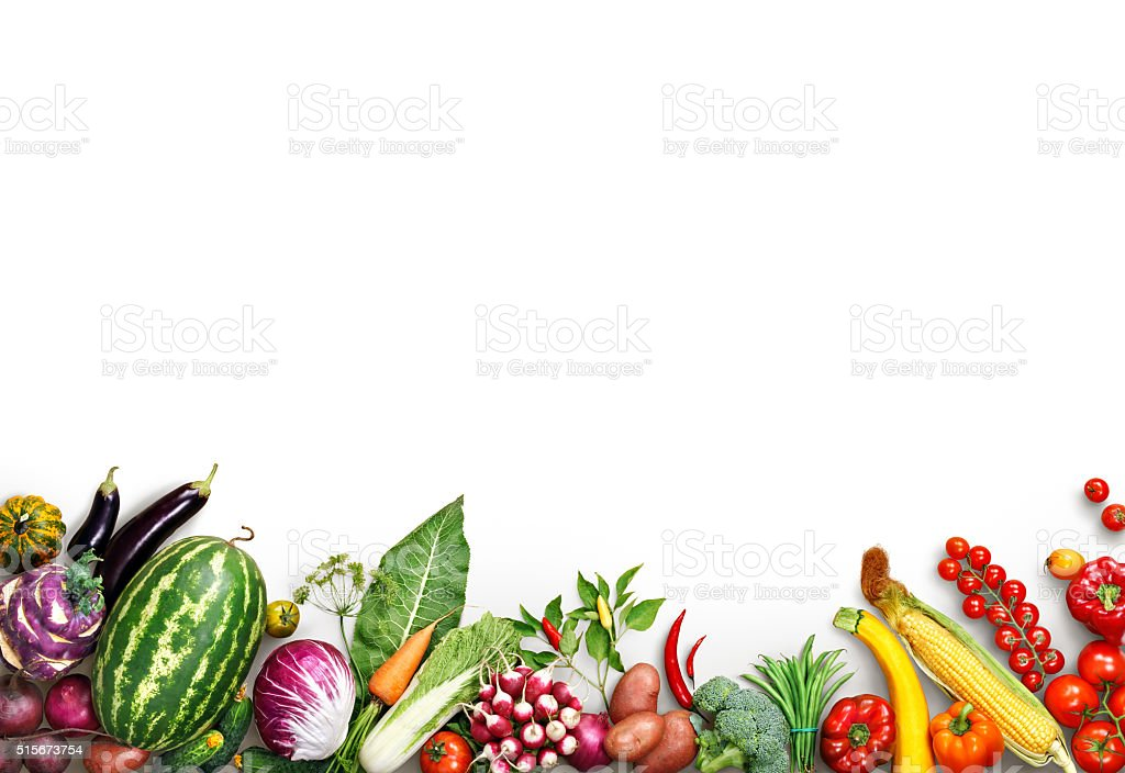 Healthy eating background. Food photography different fruits and vegetables stock photo