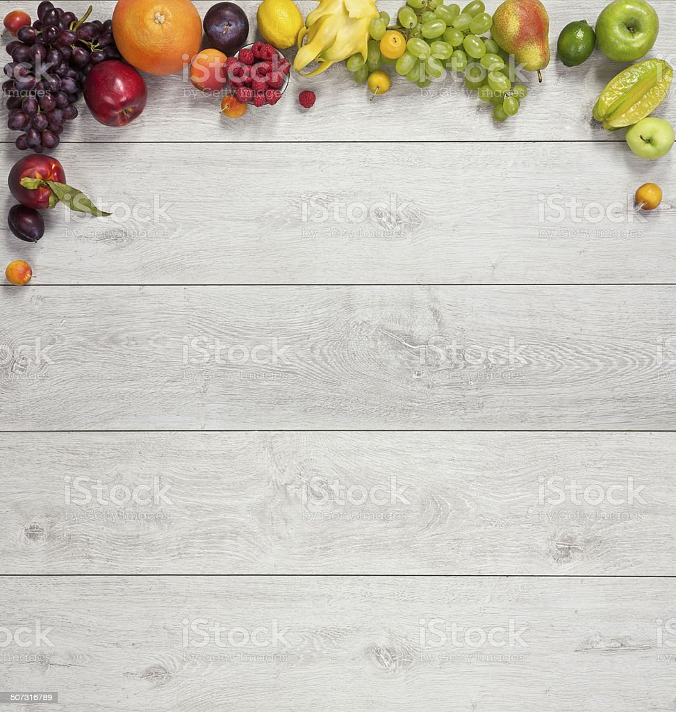 Healthy eating background stock photo