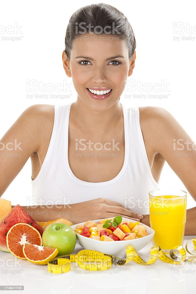 Healthy eating concept royalty-free stock photo