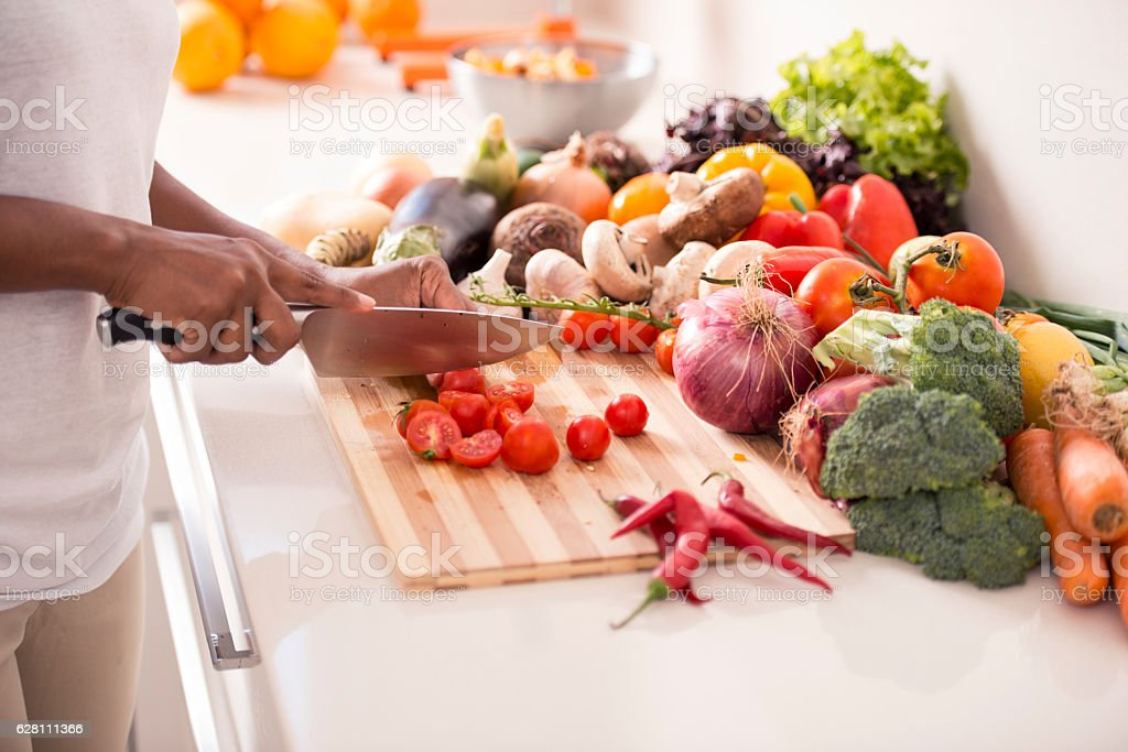 Healthy eating concept. stock photo