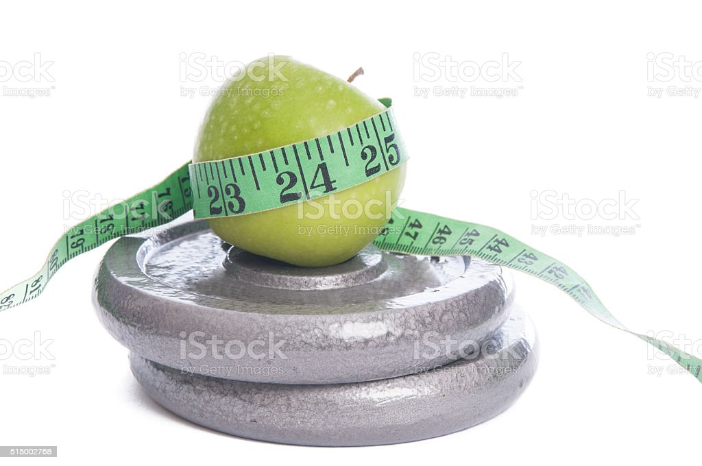Healthy Eating, Exercise And Weight Loss stock photo
