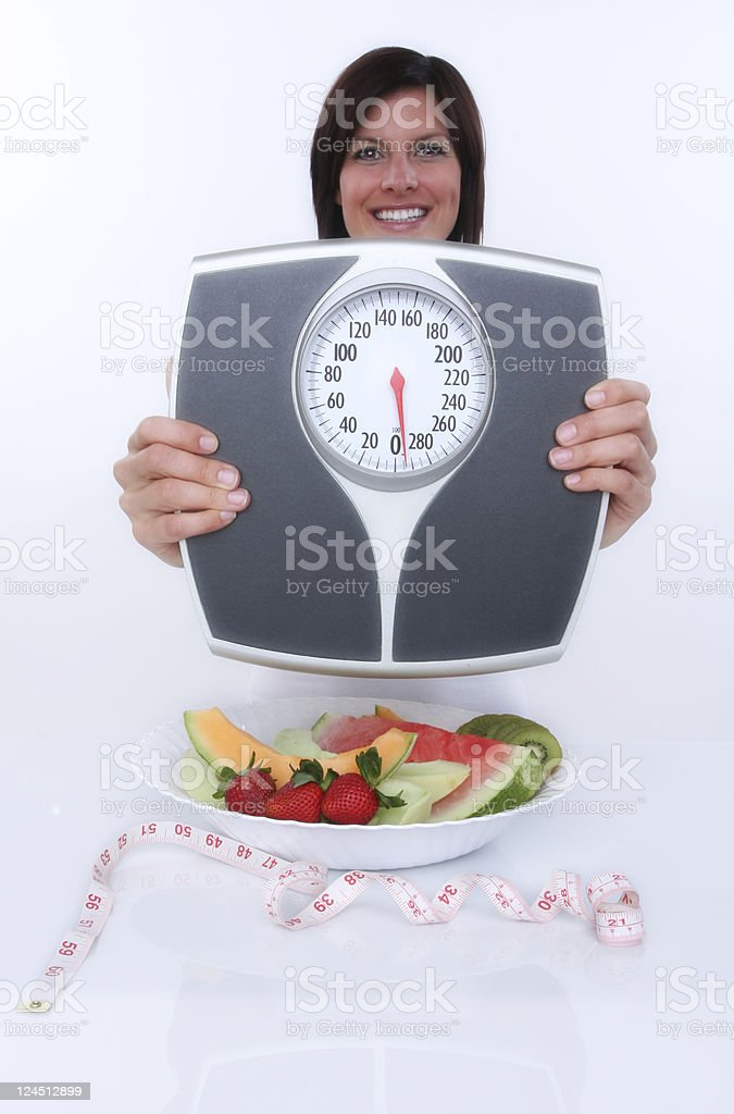 healthy eating for weight loss royalty-free stock photo