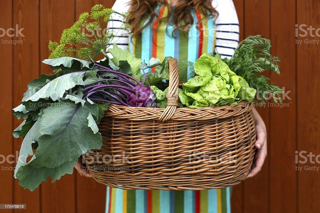 Healthy Eating, Fresh Vegetable royalty-free stock photo