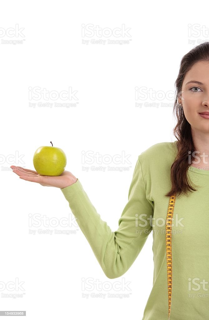 Healthy eating royalty-free stock photo