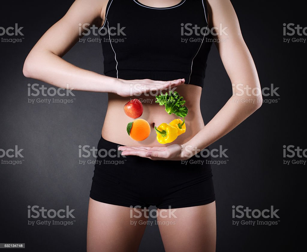 Healthy eating . stock photo