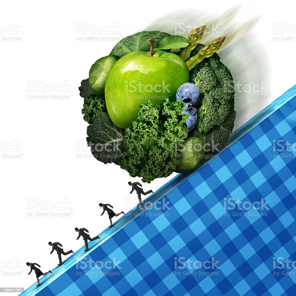 Healthy Eating Pressure stock photo