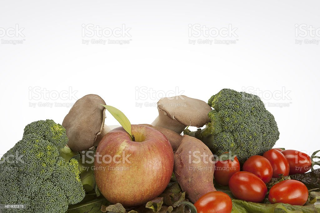 healthy eating vegetable stock photo