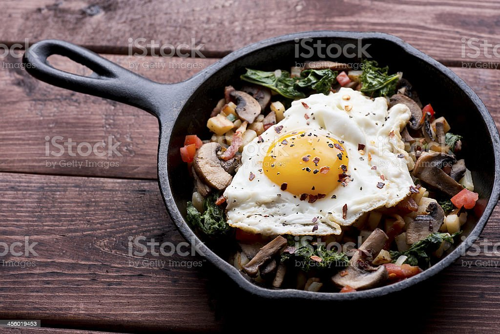 Healthy Egg Breakfast stock photo