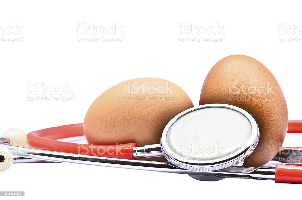 Healthy Egg stock photo