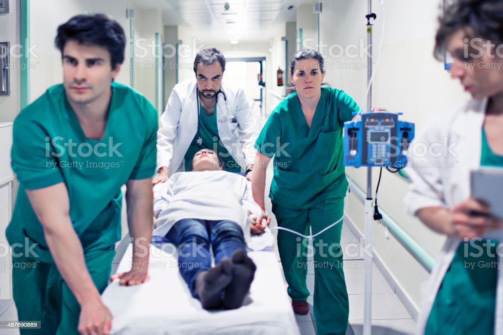 Healthy emergency issues royalty-free stock photo